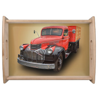 1947 CHEVROLET STAKE TRUCK SERVING TRAY