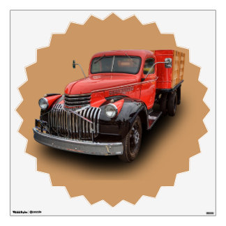 1947 CHEVROLET STAKE TRUCK WALL STICKER