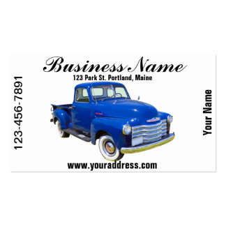 1947 Chevrolet Thriftmaster Antique Pickup Truck Double-Sided Standard Business Cards (Pack Of 100)