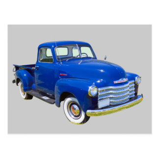 1947 Chevrolet Thriftmaster Antique Pickup Truck Postcard