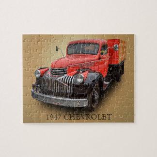 1947 CHEVROLET TRUCK PUZZLE
