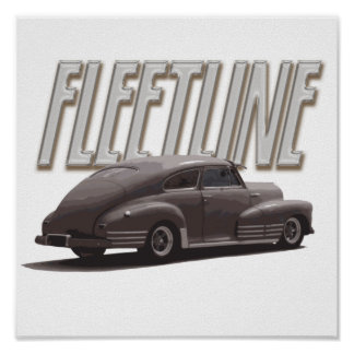 1947 Chevy Fleetline Poster