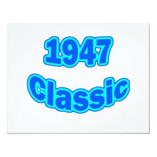 1947 Classic Blue Card