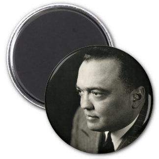 1947 FBI Director J. Edgar Hoover 2 Inch Round Magnet