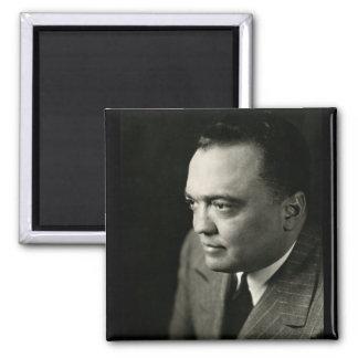 1947 FBI Director J. Edgar Hoover 2 Inch Square Magnet