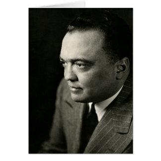 1947 FBI Director J. Edgar Hoover Card