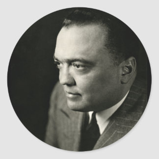 1947 FBI Director J. Edgar Hoover Stickers
