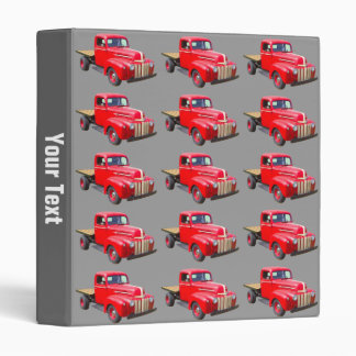1947 Ford Flat Bed Pickup Truck Binders