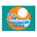 1947 Huntington Beach California Postcard