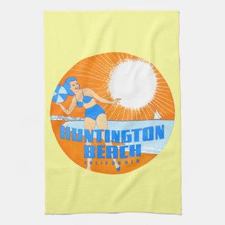 1947 Huntington Beach California Towel