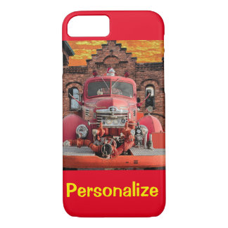 1947 International Fire Truck Design iPhone 7 Case