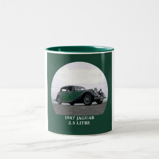 1947 Jaguar 2.5 litre Two-Tone Coffee Mug