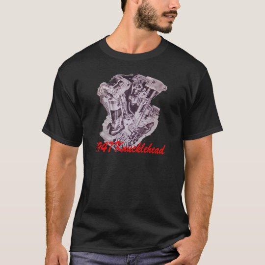 1947 Knucklehead Engine T-Shirt