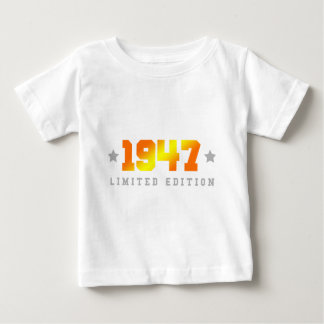 1947 limited edition birthday baby T-Shirt