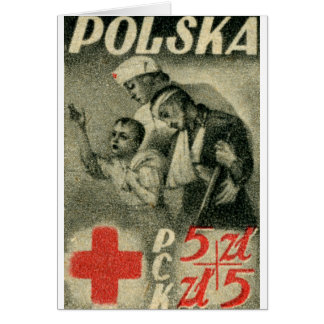 1947 Polish Red Cross Card