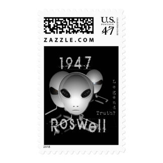 1947 Roswell Postage Stamp