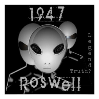 1947 Roswell Poster