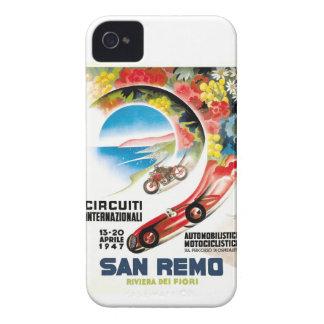 1947 San Remo Grand Prix Race Poster iPhone 4 Case-Mate Case