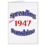 1947 soles de extensión tarjetas