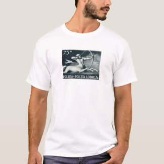 1948 75zt Polish Airmail Stamp T-Shirt