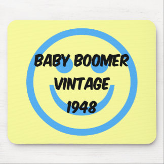 1948 baby boomer mouse pad