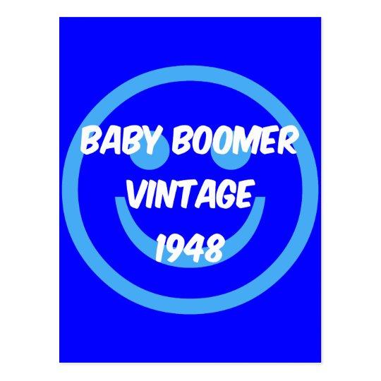 1948 baby boomer postcard