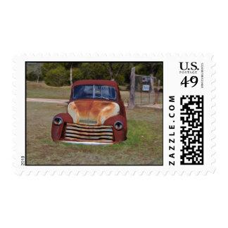 1948 Chev Pickup Postage Stamp