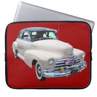 1948 Chevrolet Fleetmaster Antique Car Laptop Sleeve