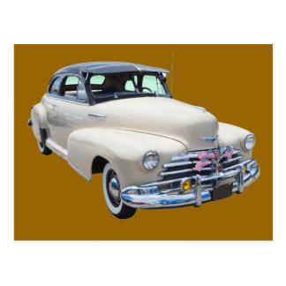 1948 Chevrolet Fleetmaster Antique Car Postcard