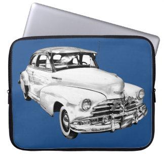 1948 Chevrolet Fleetmaster Car Illustration Computer Sleeve