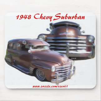 1948 Chevy Suburban Mouse Pad