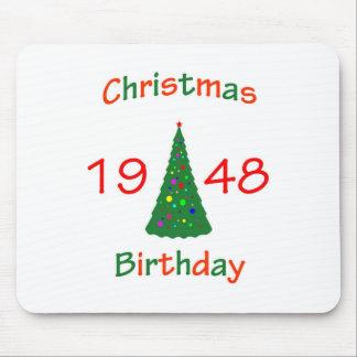 1948 Christmas Birthday Mouse Pads