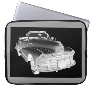 1948 Pontiac Silver Streak Car Art Laptop Sleeve