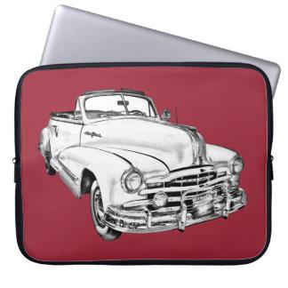 1948 Pontiac Silver Streak Car Illustration Computer Sleeve