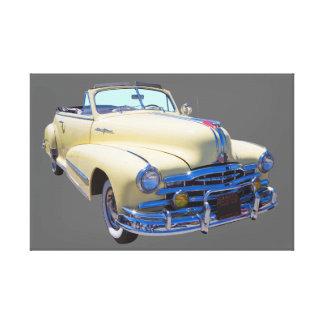1948 Pontiac Silver Streak Convertible Car Canvas Print