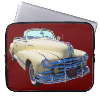 1948 Pontiac Silver Streak Convertible Car Computer Sleeve