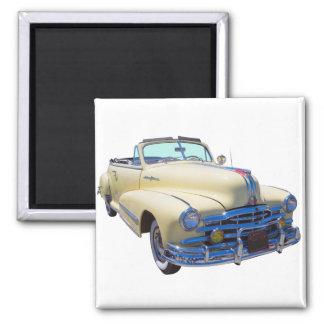 1948 Pontiac Silver Streak Convertible Car Fridge Magnet
