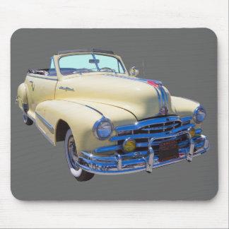 1948 Pontiac Silver Streak Convertible Car Mouse Pad