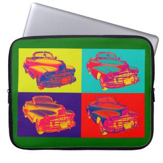 1948 Pontiac Silver Streak Convertible Car Pop Art Laptop Sleeve