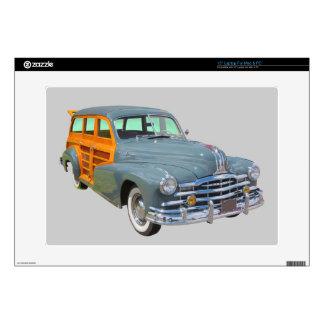 1948 Pontiac Silver Streak Woody Antique Car Decal For Laptop