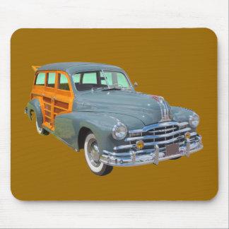1948 Pontiac Silver Streak Woody Antique Car Mouse Pad