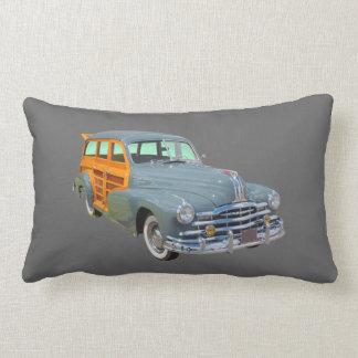 1948 Pontiac Silver Streak Woody Antique Car Pillows