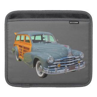1948 Pontiac Silver Streak Woody Antique Car Sleeve For iPads