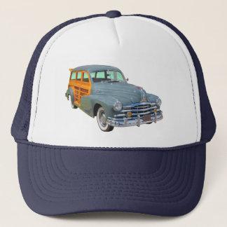 1948 Pontiac Silver Streak Woody Antique Car Trucker Hat