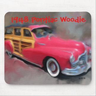 1948 Pontiac Woodie Mouse Pad
