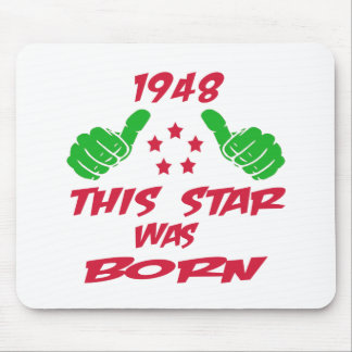 1948 this star was born mousepads