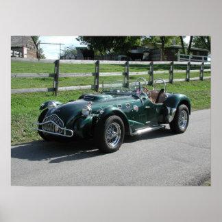 1949 Allard JX Roadster Poster