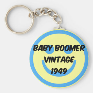 1949 baby boomer keychain