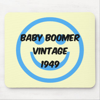 1949 baby boomer mouse pad