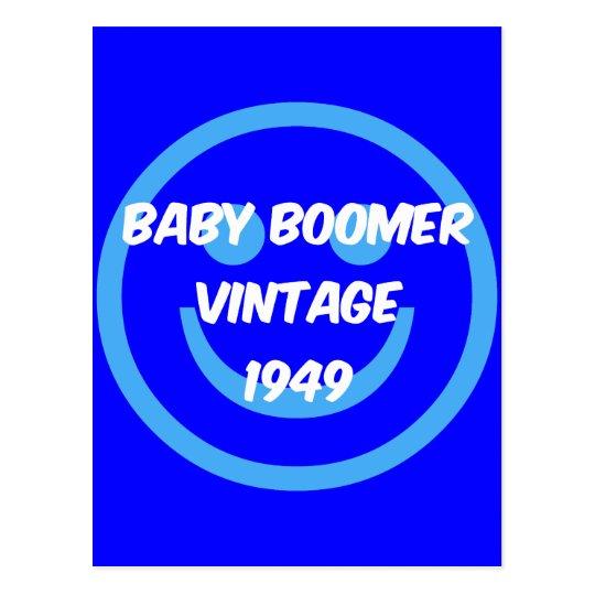 1949 baby boomer postcard